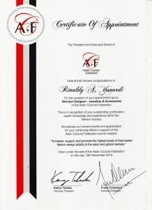 ACF Certificate